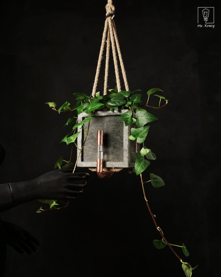 Wisząca doniczka samonawadniająca KOM POT SWING (12 cm)