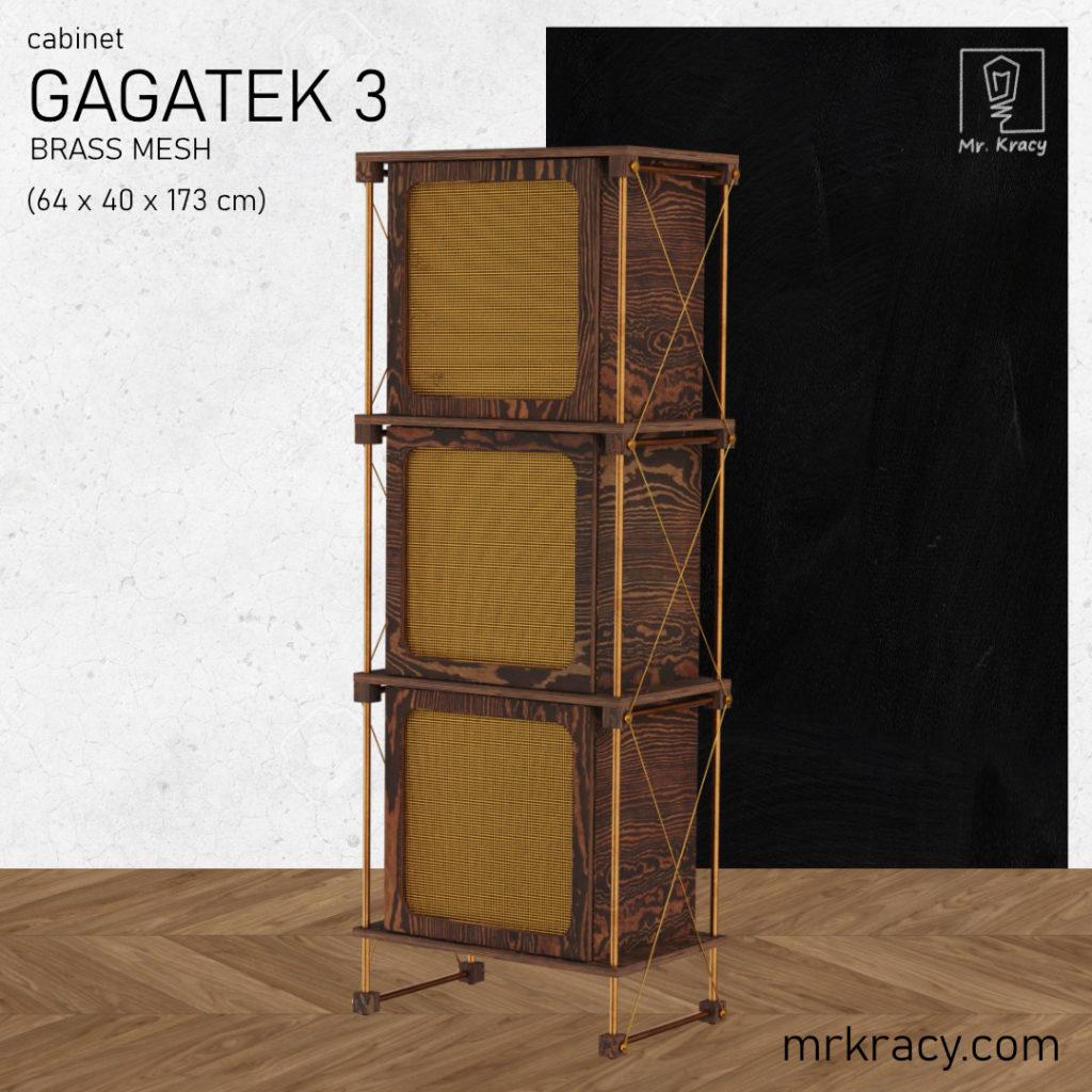 modele 3d szafka siatka mosiądz 3