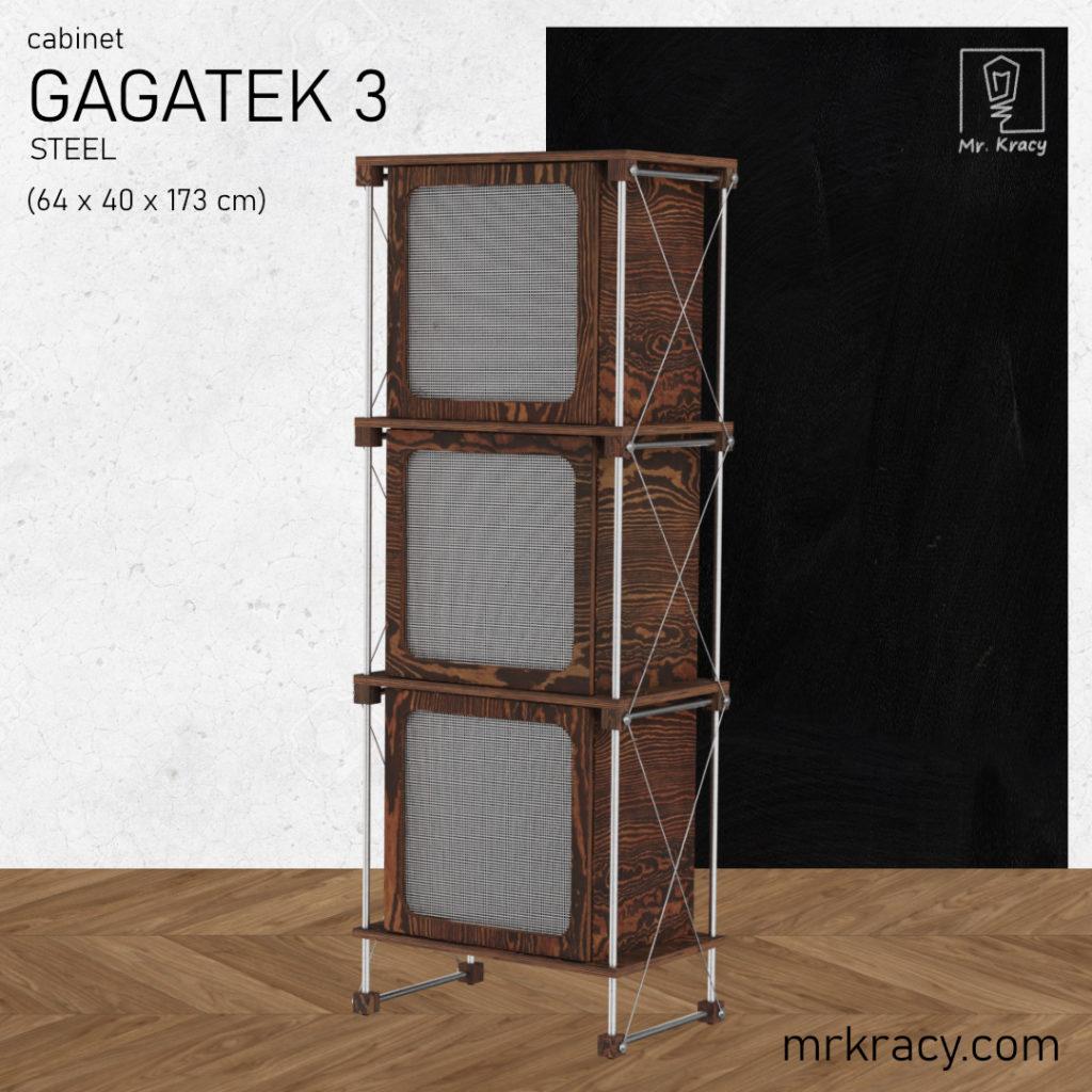 modele 3d szafka siatka stalowa 3