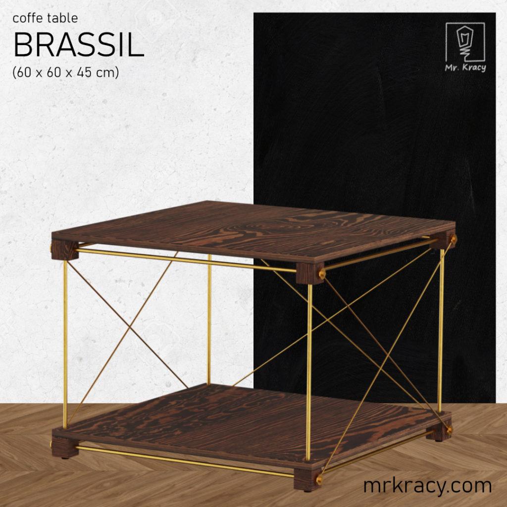 modele 3d stolik kawowy mosiadz