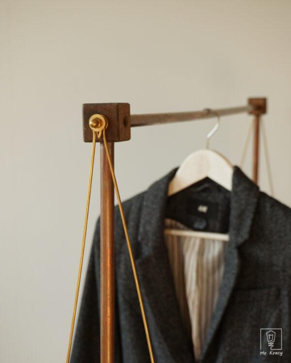 Wieszak na ubrania COPPERNIK BRASS