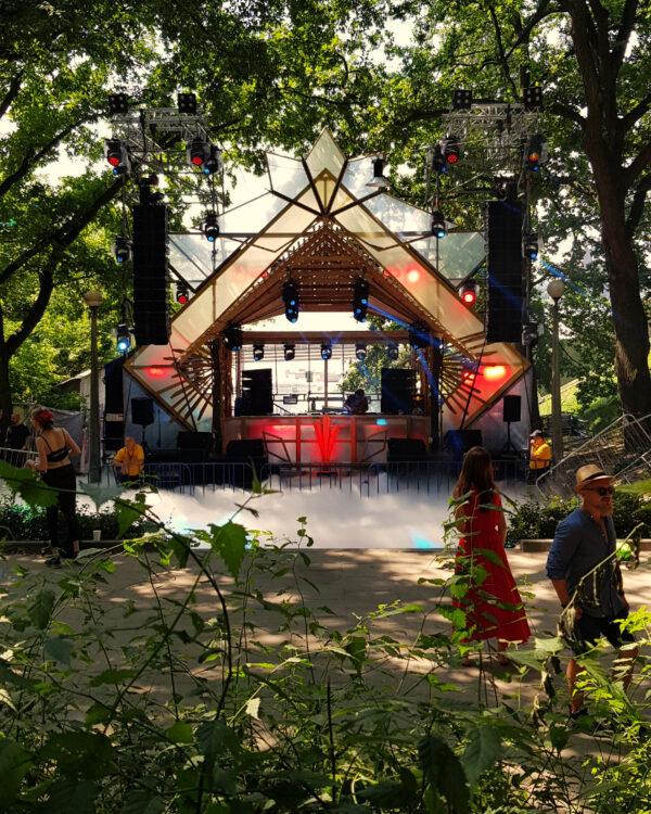 festiwal audioriver 2021 zdjęcia scenografia scena